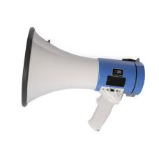 DR-2502 50 Watt Şarjlı Sirenli Ses Kayıtlı Usb ve Sd Kart Mp3 Çalarlı El Tipi Megafon