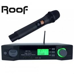 Roof R-201E Uhf Band Dijital EL Tipi Telsiz Kablosuz Mikrofon