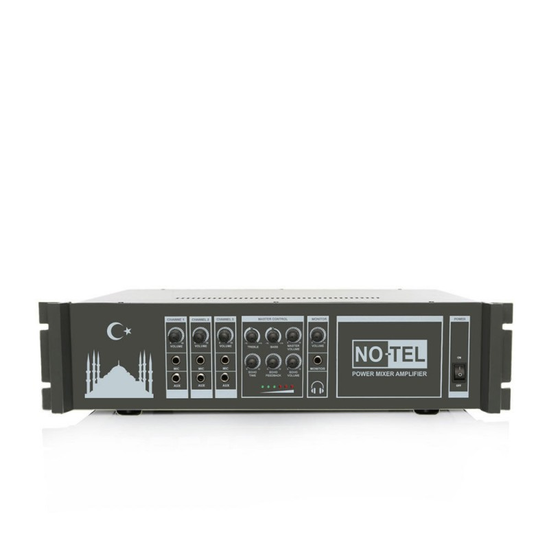 Notel NOT A 2200E 2x200 Watt Eko'lu Power Mikser Ezan Anfisi
