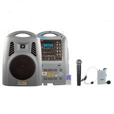 Osawa OSW-8190 125 Watt El+Yaka Mikrofonlu Portatif Taşınabilir Şarjlı Anfi
