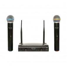 Notel NOT 700 EE UHF Tek Kanal Kablosuz Çift El Mikrofon