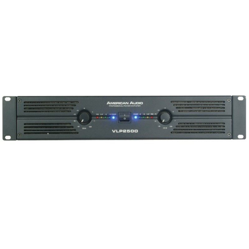 American Audio VLP-2500 2x1300 Watt Power Amfi