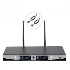 Bots BT-2000 Y UHF Çiftli Kablosuz Yaka Mikrofon