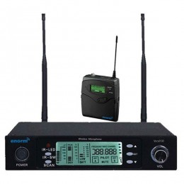 Enorm VOCAL 100 Tekli Yaka Tipi PLL Kablosuz Mikrofon Seti