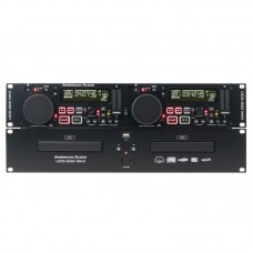 American Audio UCD-200 19'' İkili MP3/CD + 2'li Usb Çalar