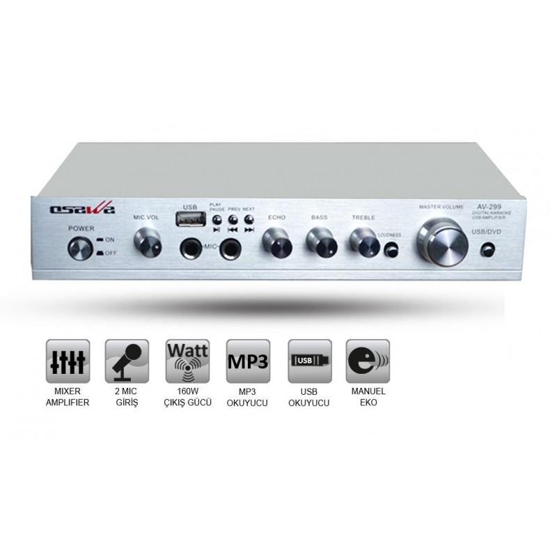 Osawa AV-299 160 Watt Stereo Anfi