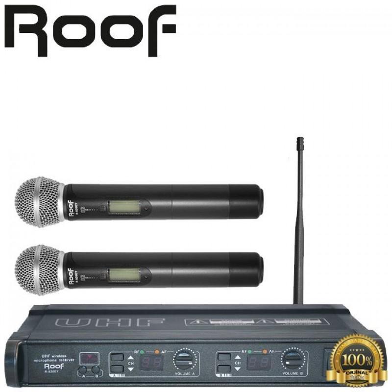 Roof R-920E UHF Dijital Telsiz 2 El Mikrofon