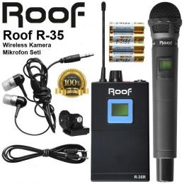 Roof R-35 Kablosuz Kamera Mikrofon Seti