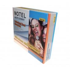 Notel NOT 270 EY VHF Sabit Kanal Kablosuz Telsiz El + Yaka Mikrofon