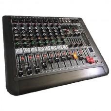 König K-8 P500 2x250 Watt 8 Kanal Power Mikser
