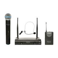 Notel NOT 700 EY UHF Sabit Kanal Telsiz Kablosuz 1 El + 1 Headset Mikrofon