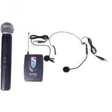 Spekon SOLO 120 Uhf Kablosuz El + Yaka Mikrofonu