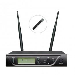 Bots BK-301 E UHF Tekli Kablosuz El Mikrofon