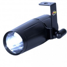 ADJ Pinspot LED Parlak3 Watt Beyaz LED Pinspot