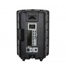 Notel NOT AH4012-14T 12'' (30 Cm) 300 Watt Aktif Plastik Kabin Hoparlör Tekerlekli Çekçekli