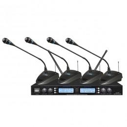 Bots BT-401 4 Kanal Telsiz Konferans Mikrofon