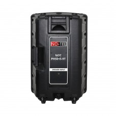 Notel NOT PH5015-9T 15'' (38 Cm) 500 Watt Plastik Pasif Kabin Hoparlör Tekerleki Çekçekli