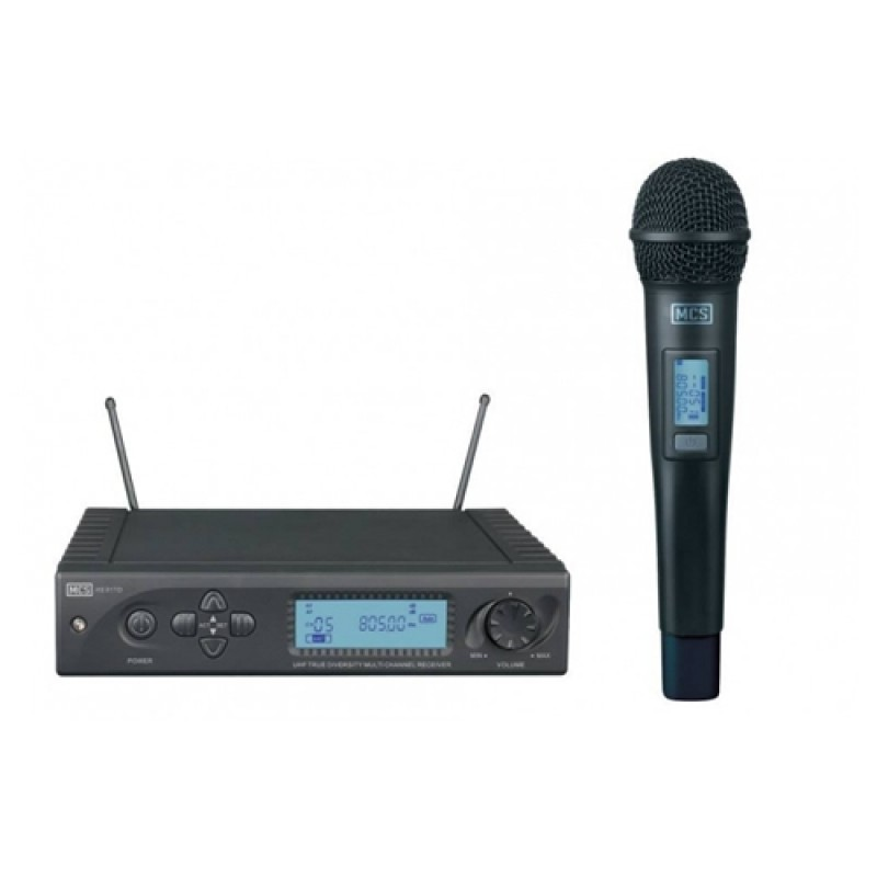 Mcs HS-88 UHF Dijital Tekli Telsiz mikrofon