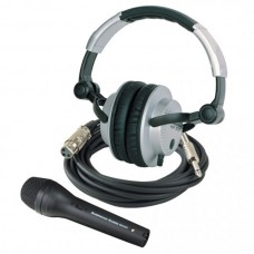 American Audio STAGE STUDIO KIT Microphone/Headphone Combo Kit