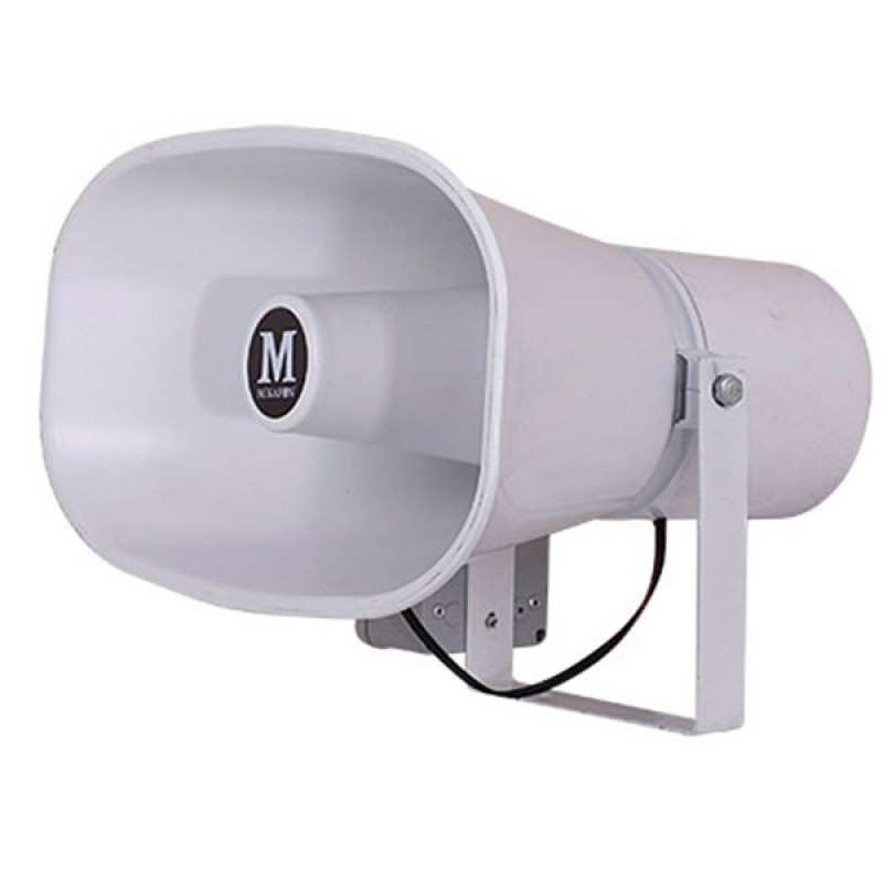 Mikafon HP75R 150W/16 Ohm Plastik Yassı Harici Horn Hoparlör