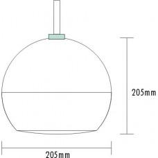 Mcs PEN-15 Geniş Açı Abajur Tipi Hoparlör