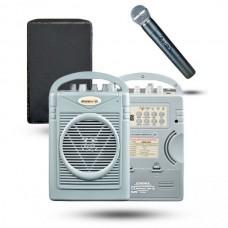 Osawa OSW-8102EH 50 Watt El Mikrofonlu Portatif Taşınabilir Şarjlı Anfi