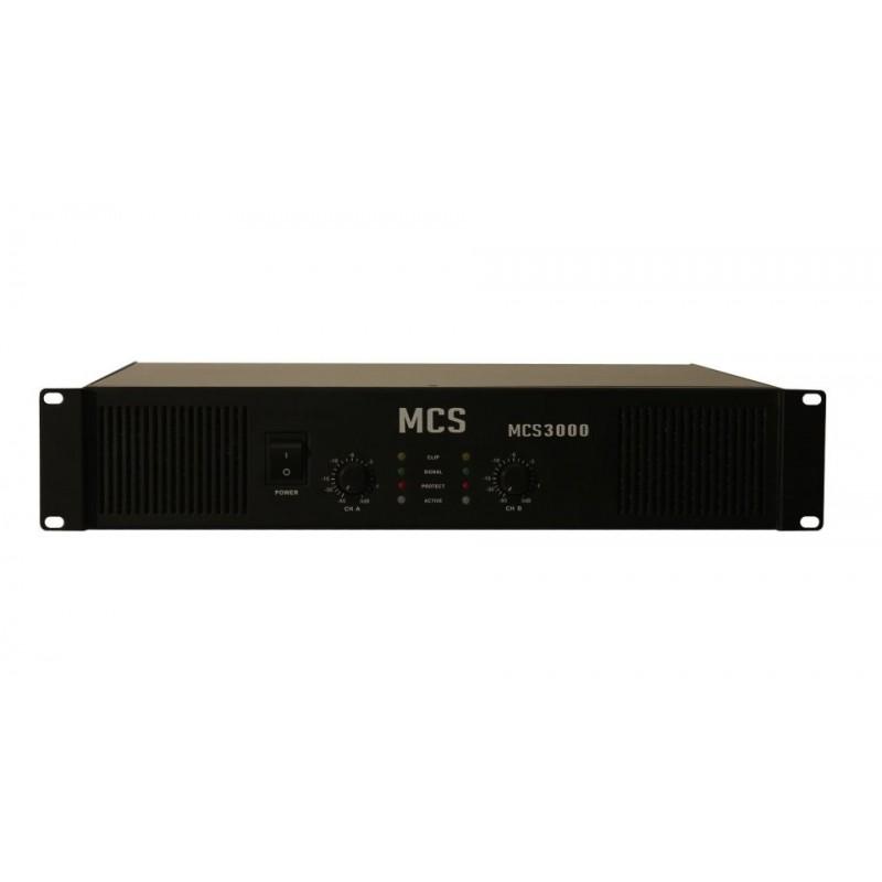 MCS 2000H 2x1000 Watt Power Amplifikatör