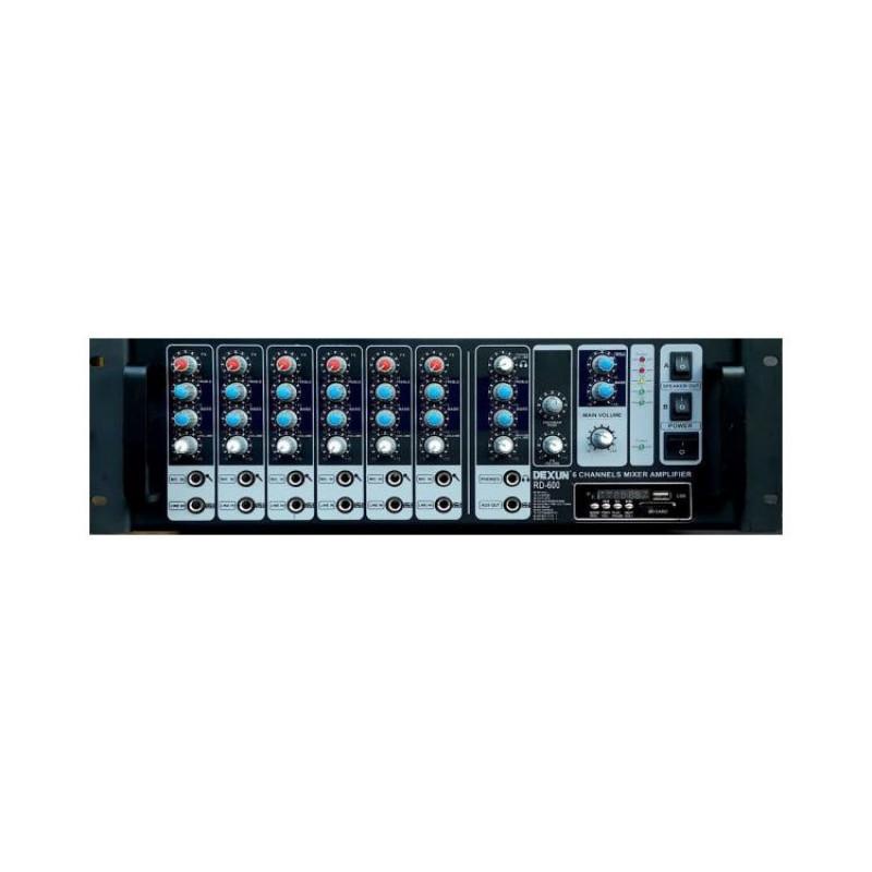 Dexun RD-600E 600 Watt Usb Girişli Eko'lu Cami Anfisi
