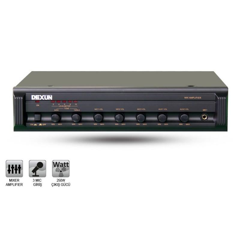 Dexun D-600 350 Watt Hat Trafolu Mikser Anfi