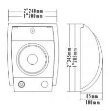 MCS WM-601 16 Cm Duvar Tipi Hoparlör