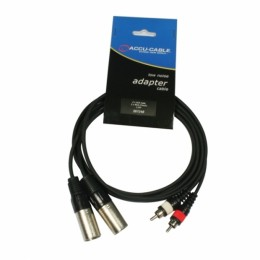 Accu-Cable AC-2XM-2R/1.5 Çevirici Kablo
