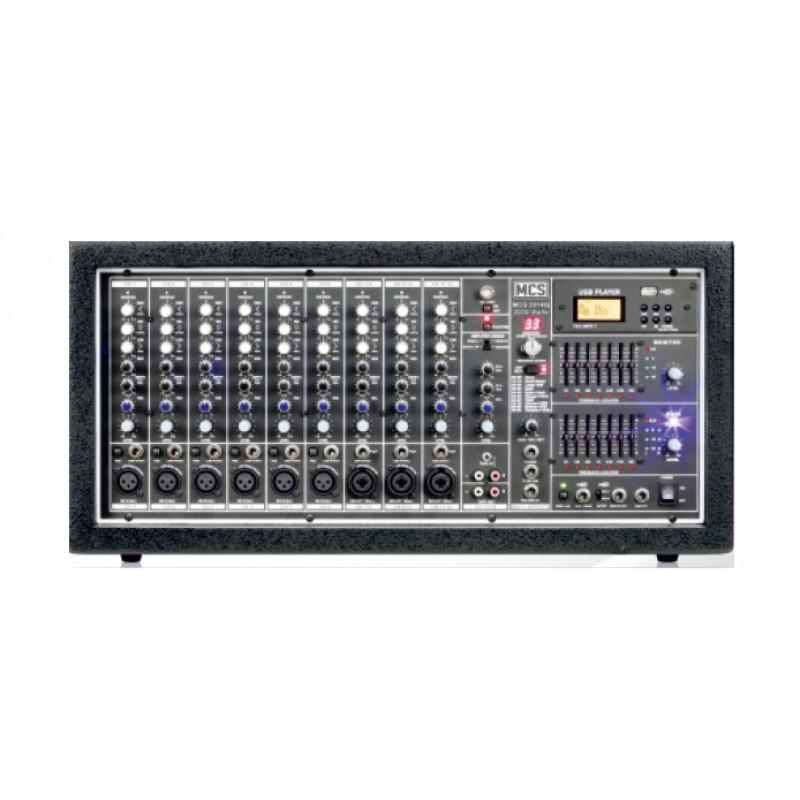 MCS 2014Q 14 Kanal Dijital Power Küp Mikser