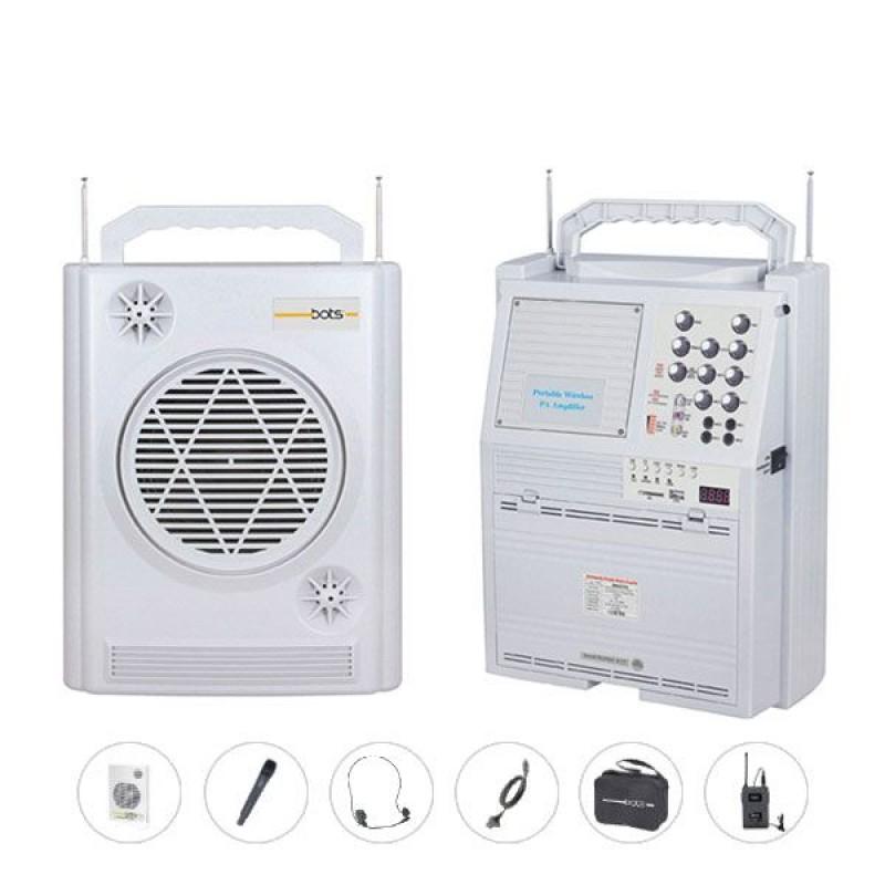 Bots SH 677U-YKEH Seyyar Portatif 1 Yaka 1 Kafa 1 El Telsiz Mikrofonlu Mevlüt Anfisi