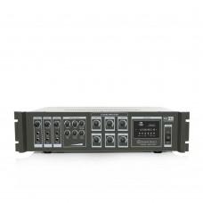 Notel NOT A 406T 400 Watt 6 Bölgeli Mp3 Çalarlı Hat Trafolu Power Mikser Zonlu Anfi