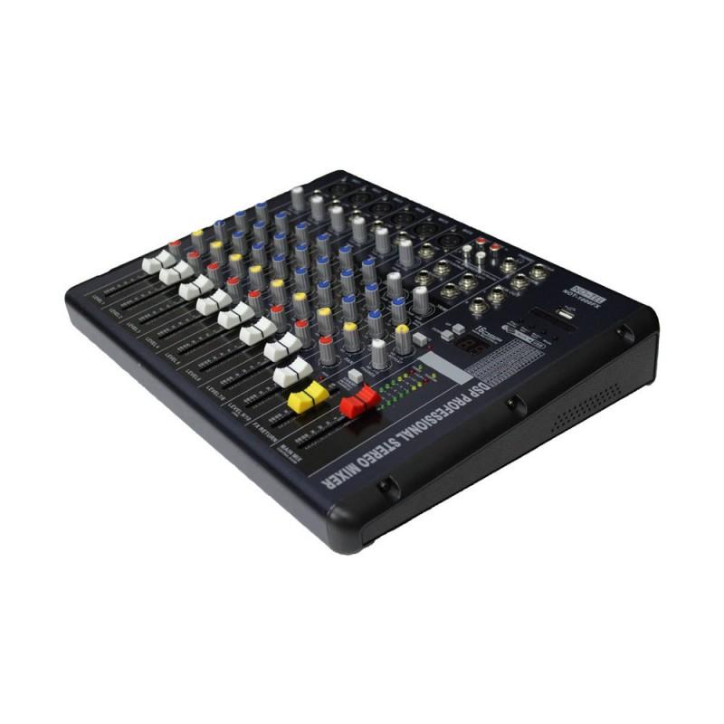 Notel NOT 800FX 9 Kanal Profesyonel Dijital Stüdyo Deck Ses Mikseri