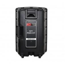 Notel NOT PH4012-9T 12'' (30 Cm) 300 Watt Plastik Pasif Kabin Hoparlör Tekerlekli Çekçekli