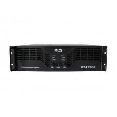 MCS 3502 2x1800 Watt Power Amplifikatör
