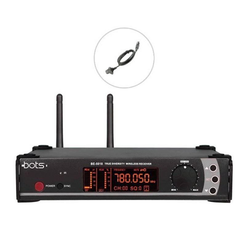 Bots BE-5018 Y UHF Tekli Kablosuz Yaka Mikrofon