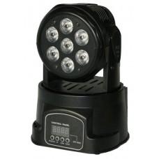 BlueStar LM-718 7x18 Watt 6-in-1 LED Mini Boyama Robot Işık Sistemi