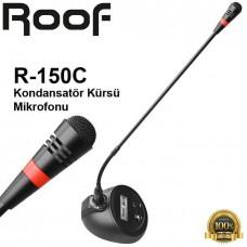 Roof R-150C Kondensatör Kürsü Mikrofonu