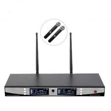 Bots BT-2000 E UHF Çiftli Kablosuz El Mikrofon