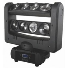 BlueStar EF-810SP 8X10 Watt LED RGBW 4-in-1 Effect BEAM Spider Işık Sistemi