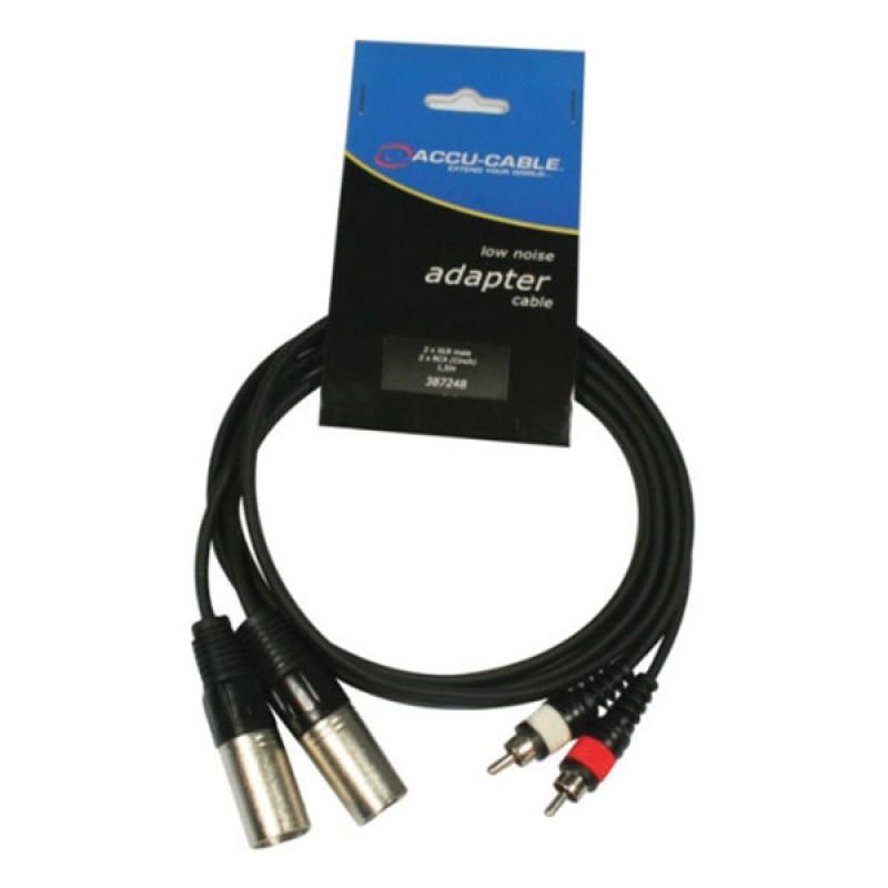 Accu-Cable AC-2XM-2J6M/3 Çevirici Kablo
