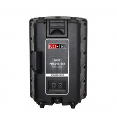 Notel NOT PH5015-14T 15'' (38 Cm) 500 Watt Plastik Pasif Kabin Hoparlör Tekerlekli Çekçekli