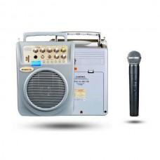 Osawa OSW-8107E 60 Watt El Mikrofonlu Portatif Taşınabilir Şarjlı Anfi