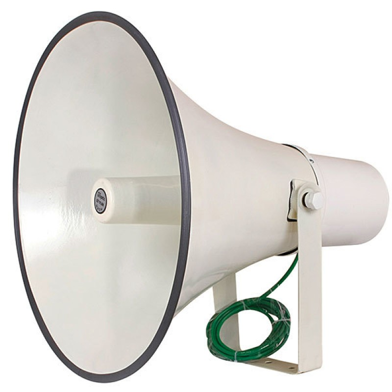 Mikafon W20-N80 80W/16 Ohm Döküm Alüminyum Horn Hoparlör