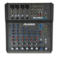 Alesis MultiMix 8 USB FX Stüdyo Mikseri + USB Ses Kartı