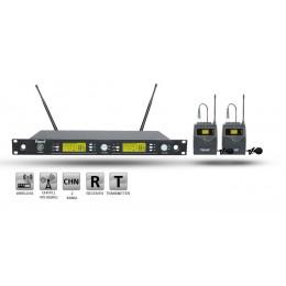 Roof R-1250S YY UHF Dijital Kablosuz 2 Yaka Mikrofon