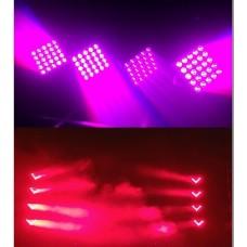 BlueStar EF-104W 4x10 Watt Beyaz LED Beam Efekt Işık Sistemi