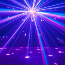 ADJ Starburst 12 DMX Kanallı 34 Canlı ve Parlak Işın Üretebilen Efekt Işığı